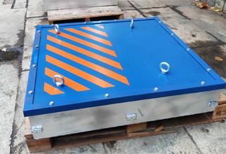 Подвесной магнитный сепаратор-плита