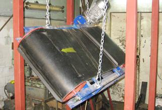 Подвесной сепаратор с автоматической разгрузкой